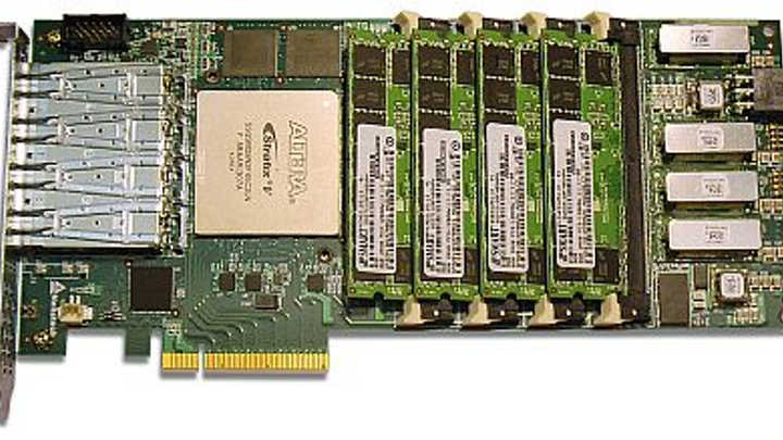 FPGA accelerator card for signals intelligence and network security introduced by Nallatech