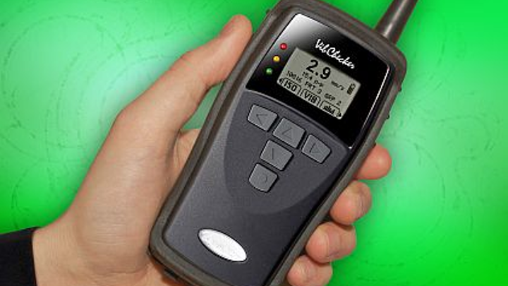 Vibration-measurement meter introduced by QBC for testing in 10-to-1000-Hz range