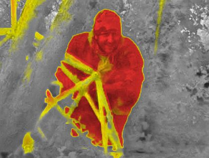 Real-time portable image-processing for enhanced surveillance imagery offered by RFEL