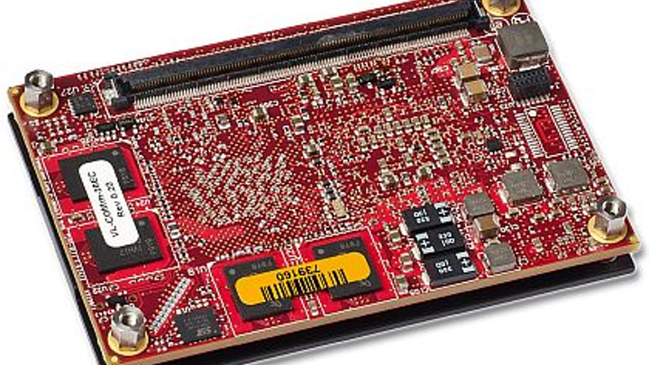 Rugged small-form-factor computer on module for aerospace and defense introduced by VersaLogic