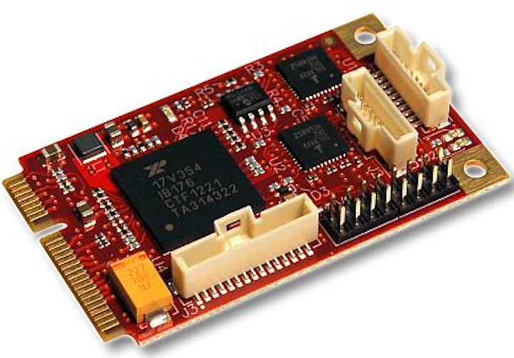 Small PCI Express mezzanine cards to add I/O to embedded computing introduced by VersaLogic