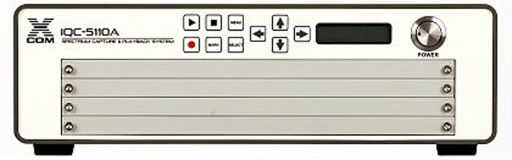 Spectrum-capture fast data recorder for RF test and measurement introduced by X-COM