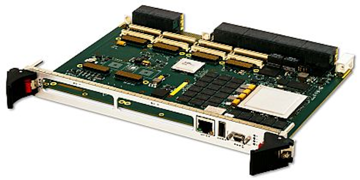 6U OpenVPX embedded computing board with Freescale QorIQ processors introduced by X-ES