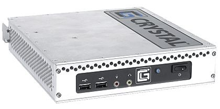 Rugged thin clients for virtualizing desktop computers introduced by Crystal Group