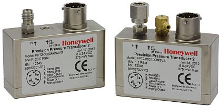 Pressure sensor for avionics, unmanned vehicles, weather buoys offered by Honeywell
