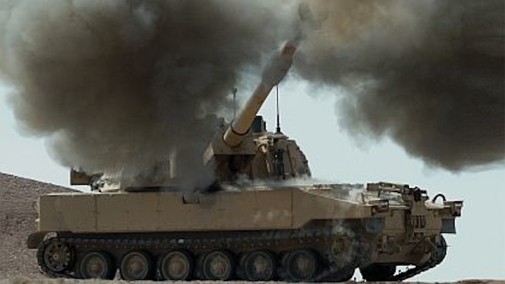 BAE Systems adds to contract for upgrading Paladin artillery with new engine and vetronics