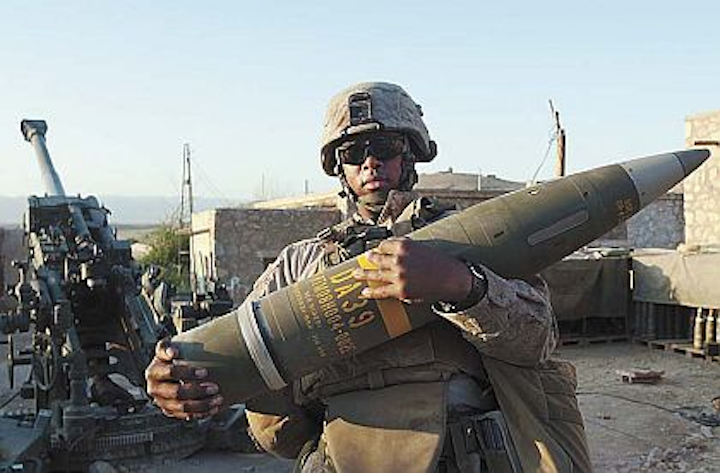 Raytheon to provide 216 satellite-guided heavy artillery shells to attack moving targets