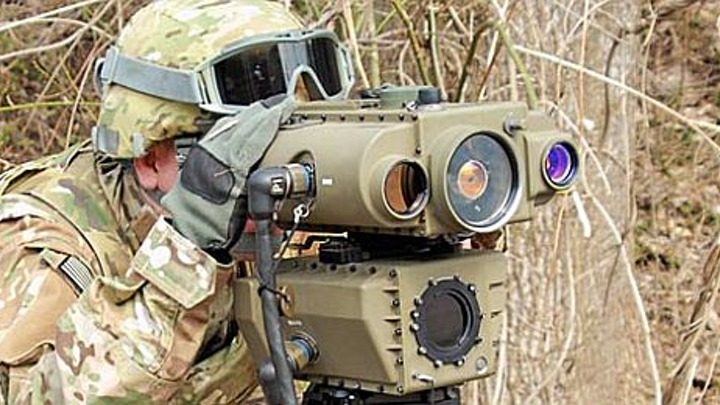 Laser target designators augment GPS with celestial navigation to enhance accuracy