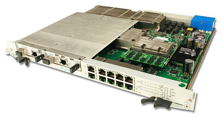 40G and 10G managed switch for AdvancedTCA embedded computing introduced by VadaTech