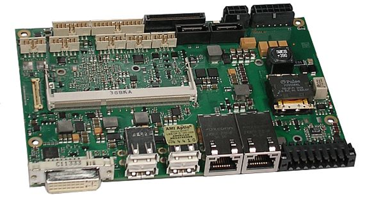 Rugged Intel-based PCI Express single-board computer for industrial control offered by ADL