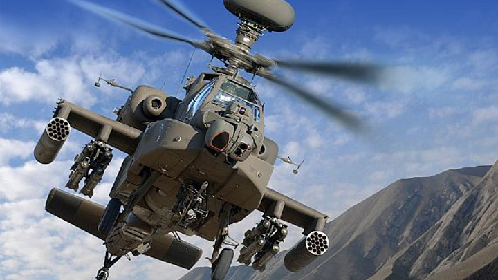 Boeing gets $1.2 billion AH-64E helicopter order