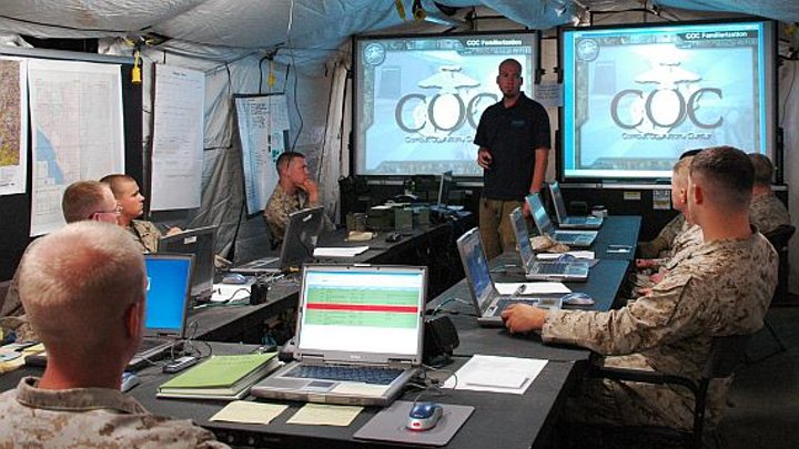 CSCI to network warplanes with ground control centers