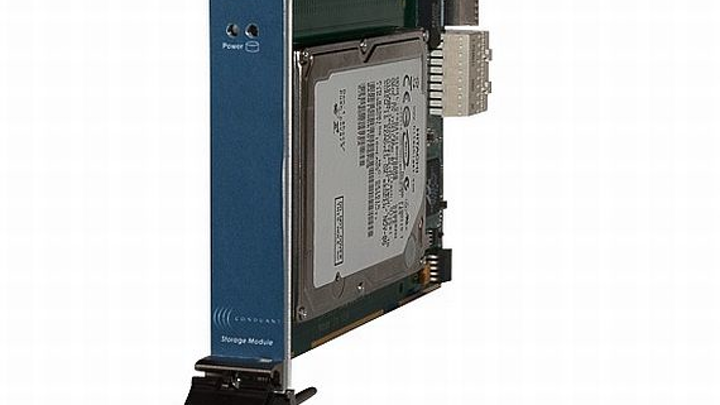 Two-terabyte storage unit for 3U test and measurement applications introduced by Conduant