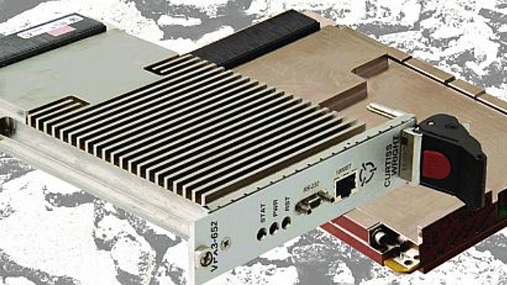 Rugged VPX Gigabit Ethernet switch for upgrading military electronics introduced by Curtiss-Wright