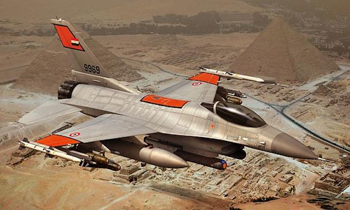 Lockheed Martin to upgrade EW on Egyptian F-16s