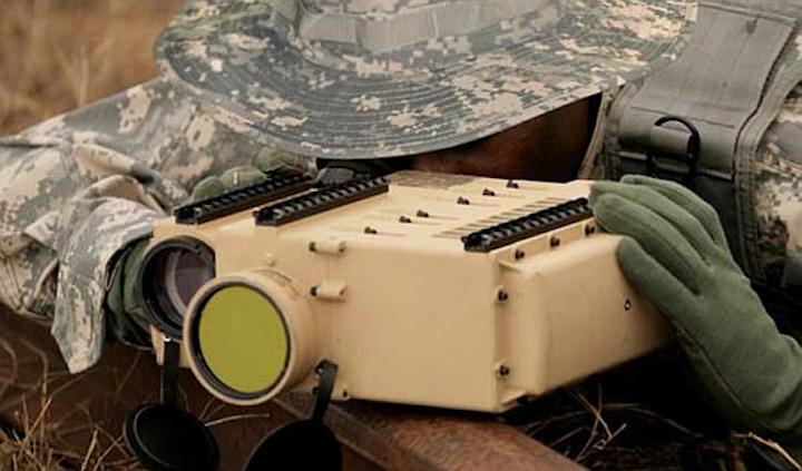Covert laser designators keep weapons on target