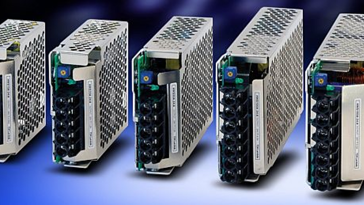 AC-DC power supplies for factory automation, process control introduced by TDK Lambda