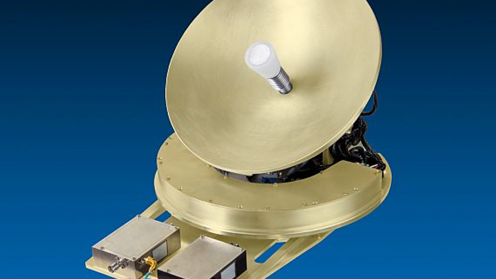 Ka-band VSAT tail-mounted SATCOM antenna for in-flight connectivity introduced by TECOM