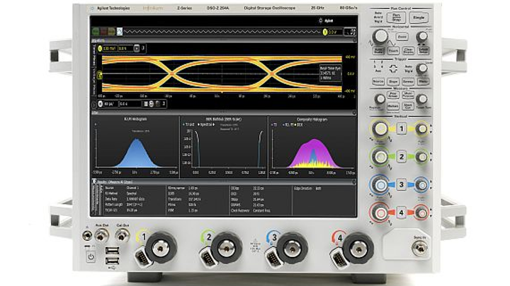 Oscilloscopes that users can synchronize to measure 40 channels at once introduced by Agilent