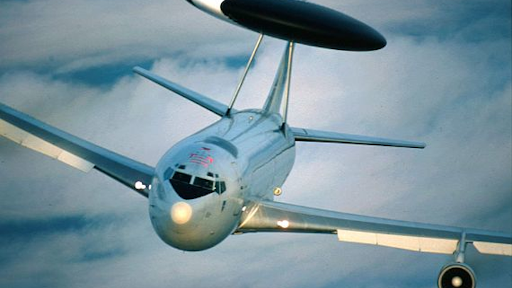 Air Force eyes electronic upgrades to AWACS
