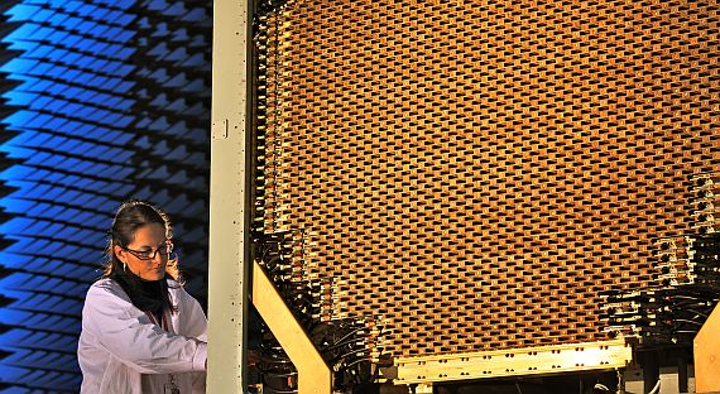 Reinventing the military RF phased array antenna