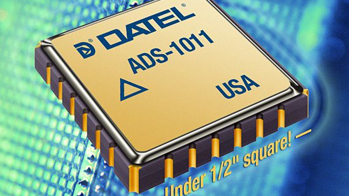 Rugged, rad-hard 10-bit A/D converter introduced by DATEL for aerospace and defense uses