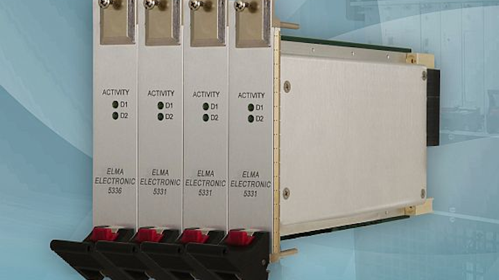 High-speed controller and storage module for defense and industrial uses introduced by Elma