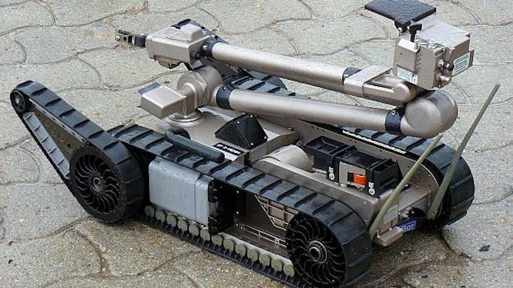 iRobot gets Navy order for bomb-disposal robots