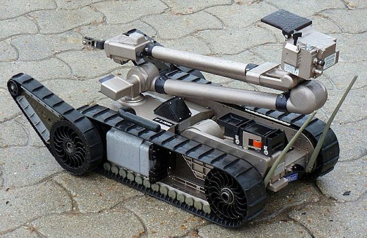 iRobot gets Navy order for bomb-disposal robots