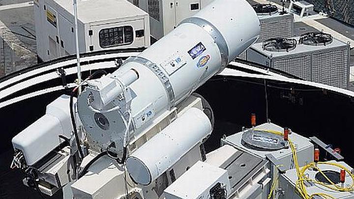 Navy's first laser weapon deployment this summer