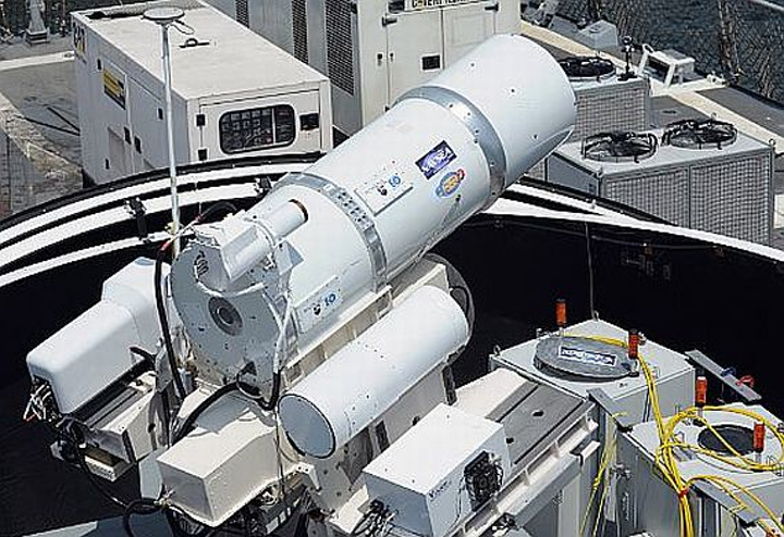 Navy's first laser weapon deployment this summer