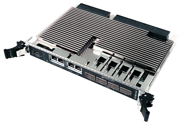 40 Gigabit Ethernet switch-fabric module for embedded sensor processing offered by Mercury