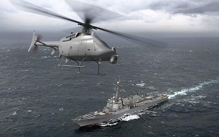 Navy asks for five long-range Fire Scout UAVs
