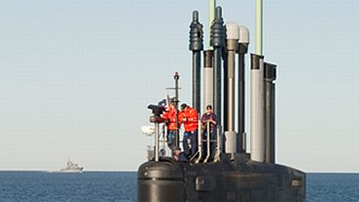 Navy buys 16 submarine sensor masts from L-3 KEO
