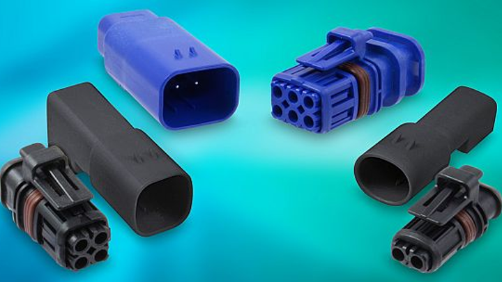 Rugged connectors for harsh environments with vibration and caustic fluids offered by Amphenol