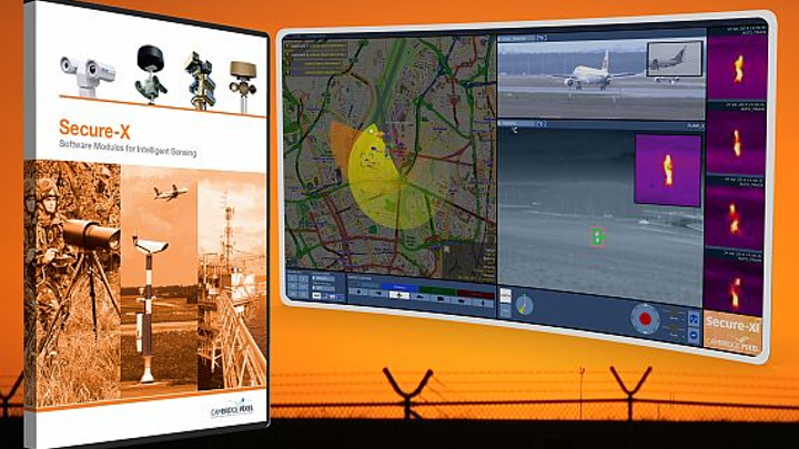 Software to help integrate sensors into surveillance systems introduced by Cambridge Pixel
