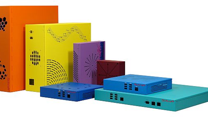 Small-form-factor embedded computing enclosures for communications and industrial offered by Pentair