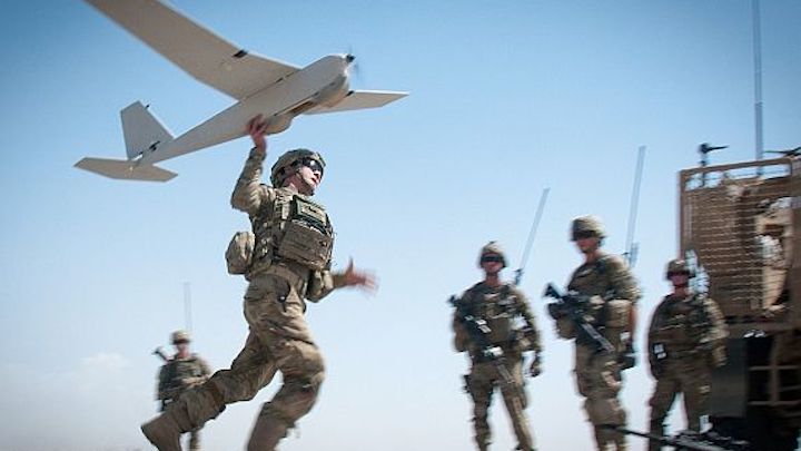 Special Operations Command asks industry for EO/IR cameras for 14-pound hand-launched UAV