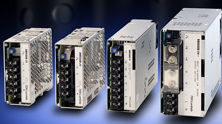 AC-DC power supplies for industrial, test, and communications introduced by TDK Lambda
