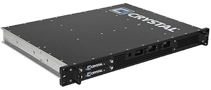 Embedded computer for rackmount applications in tight spaces introduced by Crystal Group