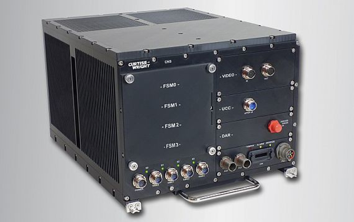 Rugged data storage for aircraft UAVs, and mobile radar introduced by Curtiss-Wright