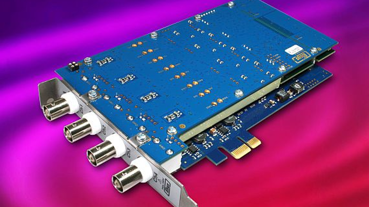 PCI Express data acquisition-cards for ballistics and explosives testing introduced by Elsys
