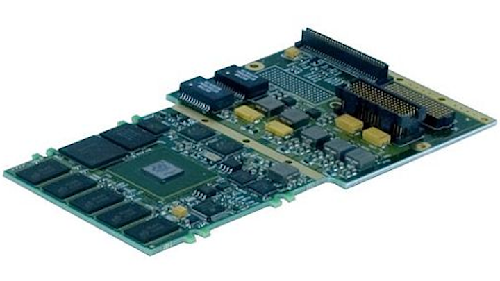 Rugged XMC single-board computer for aerospace and defense uses introduced by GE