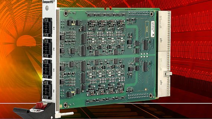 Rugged 3U CompactPCI I/O board for harsh-environment applications introduced by MEN Micro