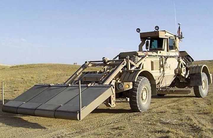 Fast ground-penetrating radar for IED detection