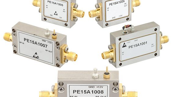 Low-noise amplifiers (LNAs) for military and commercial applications introduced by Pasternack