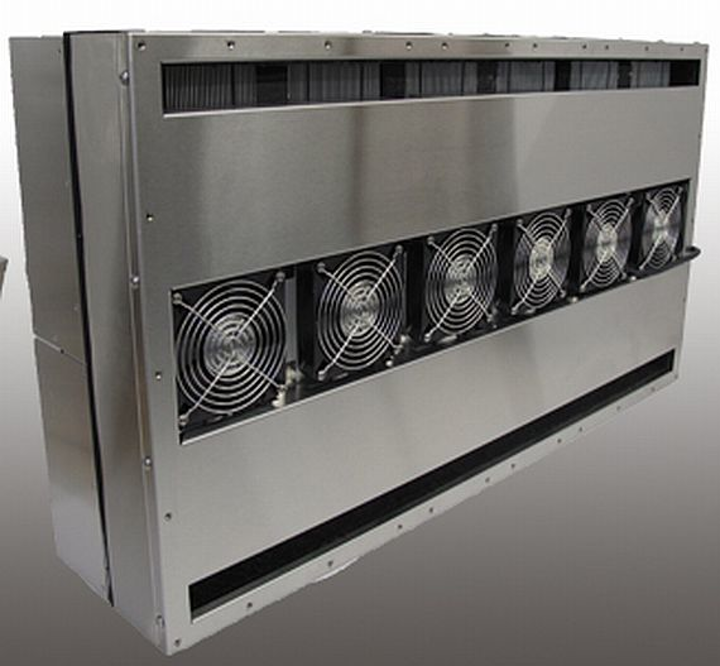 Thermoelectric enclosure coolers for systems with 3-phase power introduced by TECA