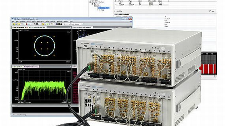 Multi-channel PXI-based test solution for complex carrier aggregation introduced by Agilent