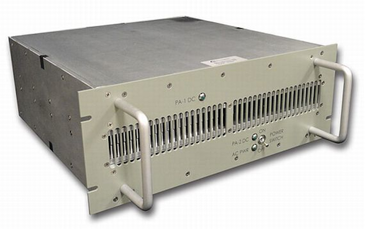Rackmount solid-state power amplifier for high PAR waveforms introduced by Aethercomm