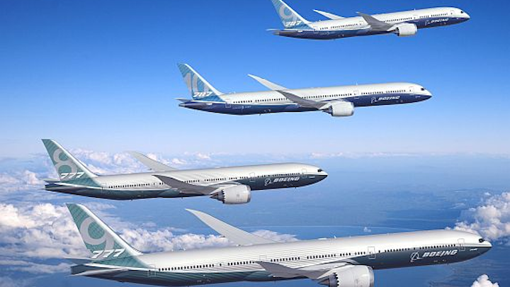 Global demand for commercial passenger jets over next two decades set at 36,770 worth $5.2 trillion